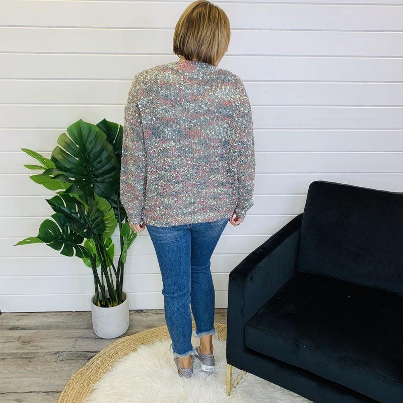 PLUS/REG Gone Again Sweater