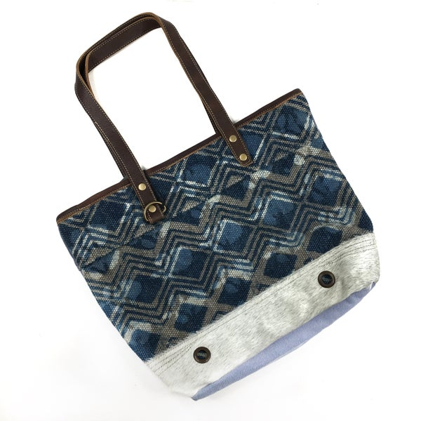 Myra Bag Nautical Blue Tote