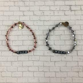 Erimish Spike Beaded Custom MOCO Bracelets