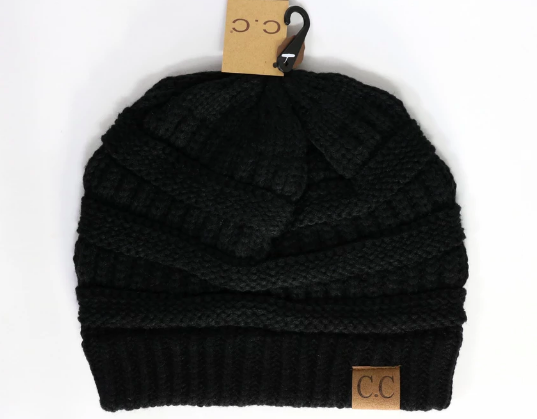 CC Beanie Adult and Kids Classic Knit Beanie