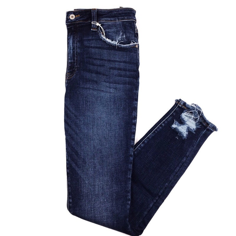Kan Can High Rise R&B Skinny Jeans