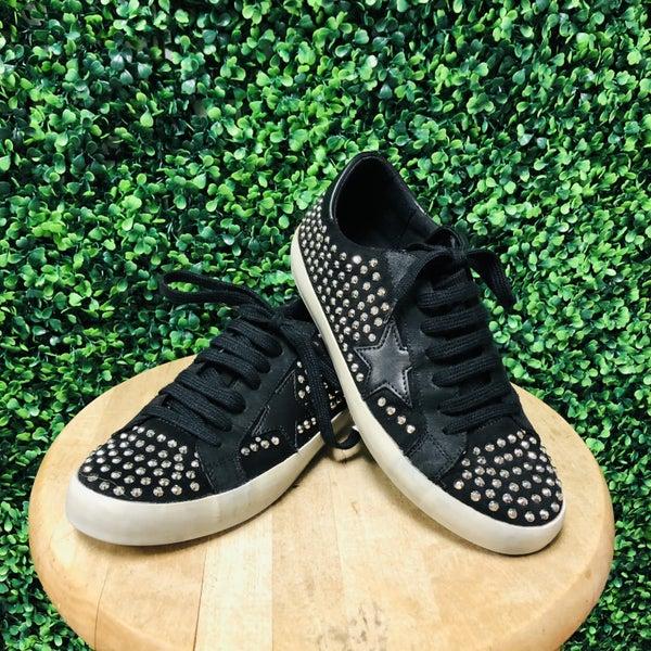 Black Rockstar Sneakers