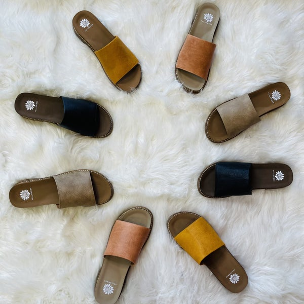 Yellowbox All The Reasons Sandals- 7 Colors!