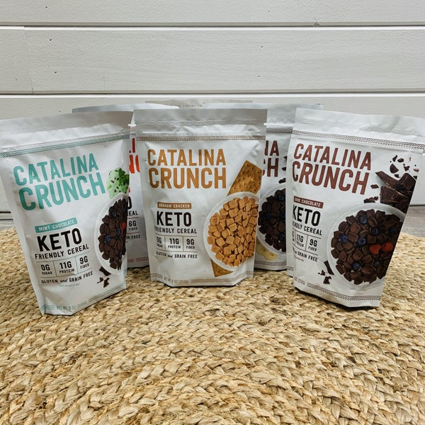 Keto Cereal- 6 Flavors!