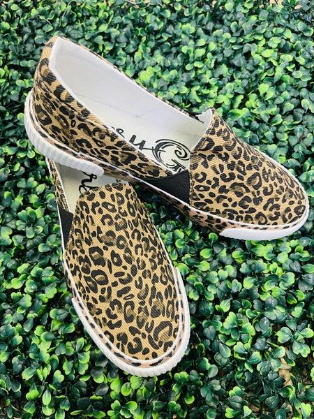 Very G Roxanne Tan Leopard Sneakers