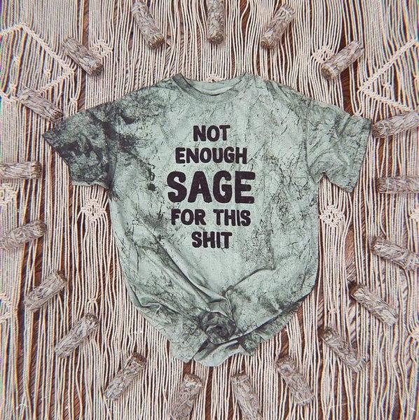 PREORDER Plus/Reg Not Enough Sage..