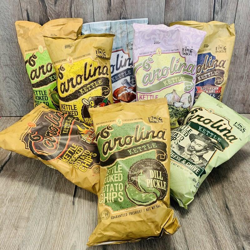 Carolina Kettle Chips- 9 Flavors!