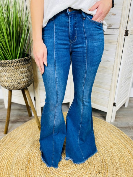 PLUS/REG Judy Blue 'It's Britney, Babe!' Flare Jeans