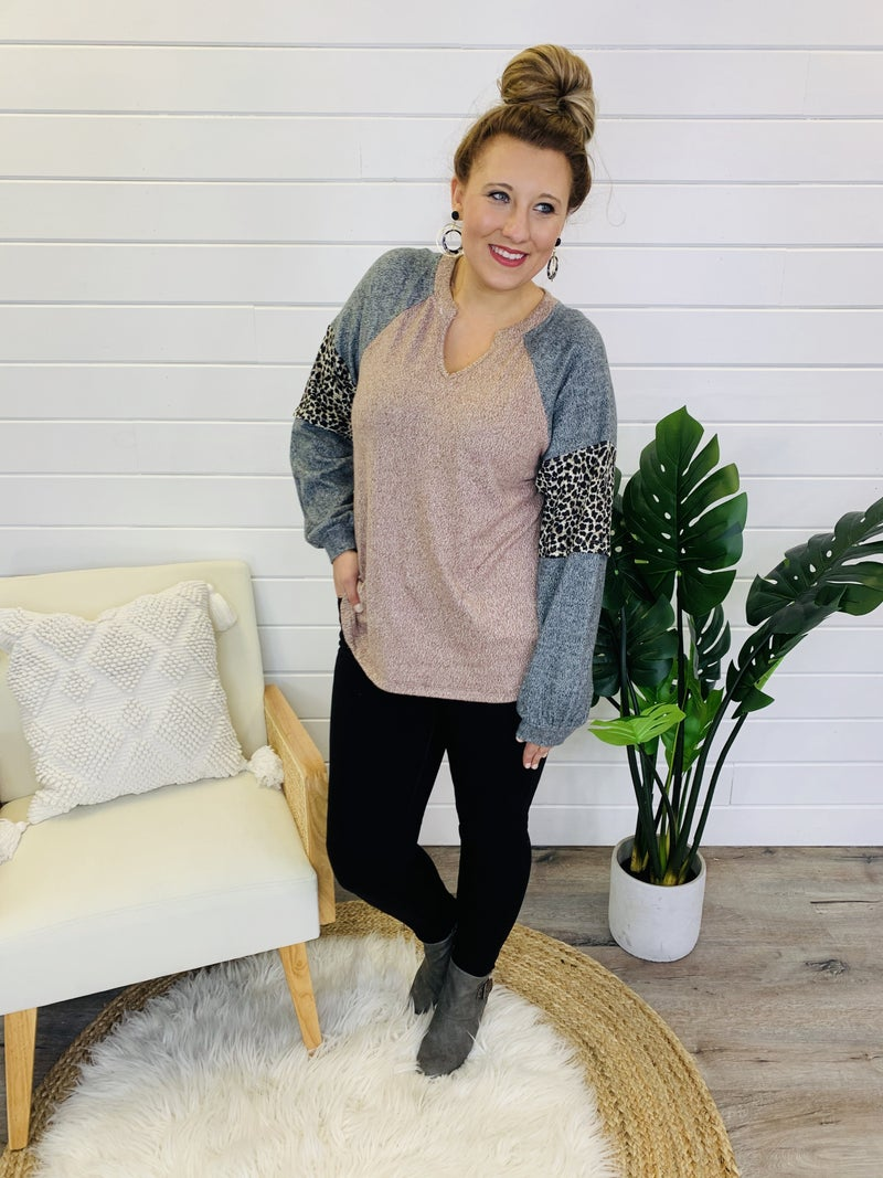 PLUS/REG Styled With Love Top