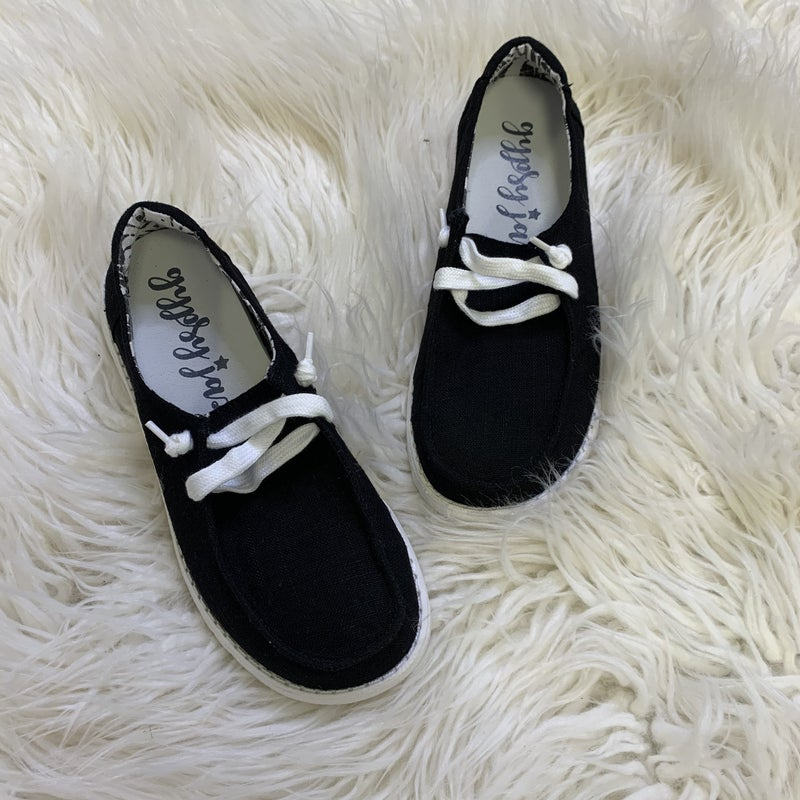 Very G Black Out Sneakers