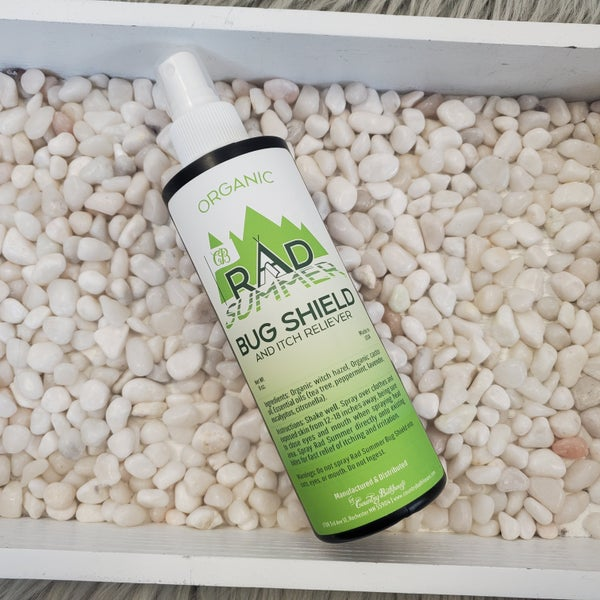 All Natural Bug Shield And Itch Reliever 8 Oz