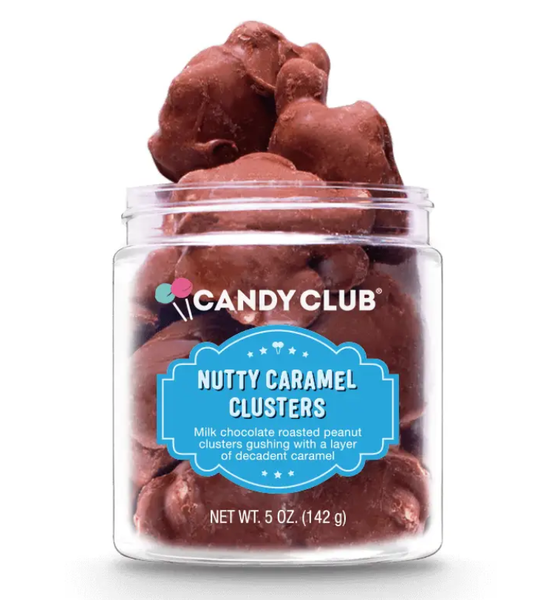 Gourmet Candy Nutty Caramel Clusters