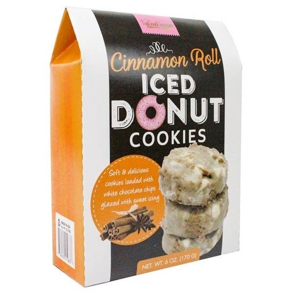 Iced Donut Cookies-- 3 Flavors!