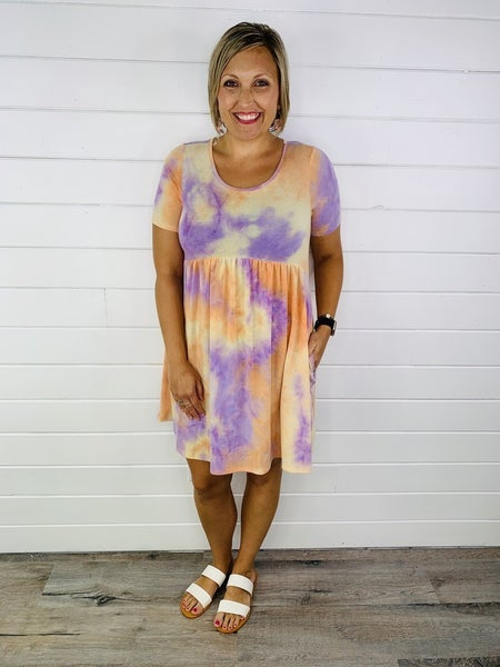 Watch the Sunset Babydoll Dress