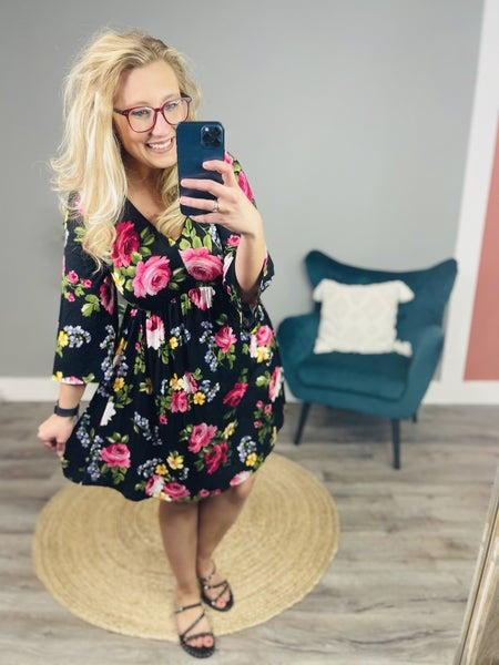 PLUS/REG Escape With Me Dress