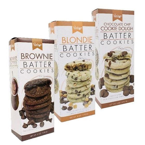 Batter Cookies-- 3 Flavors!