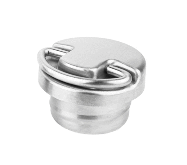 Preauthorize! Stainless Steel Cap with Loop