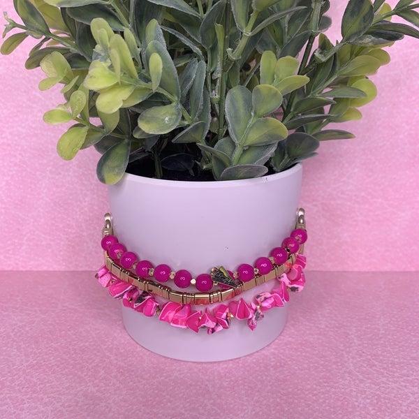 Erimish Hot Pink Apple Watch Band