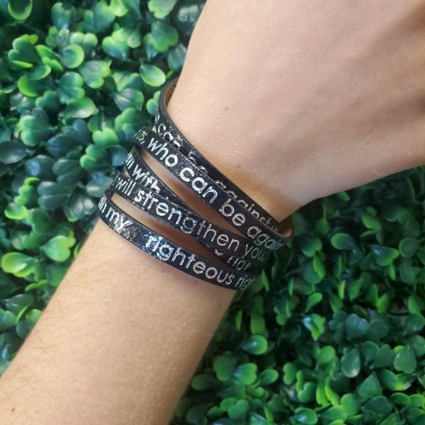If God Is For Us Wrap Bracelet