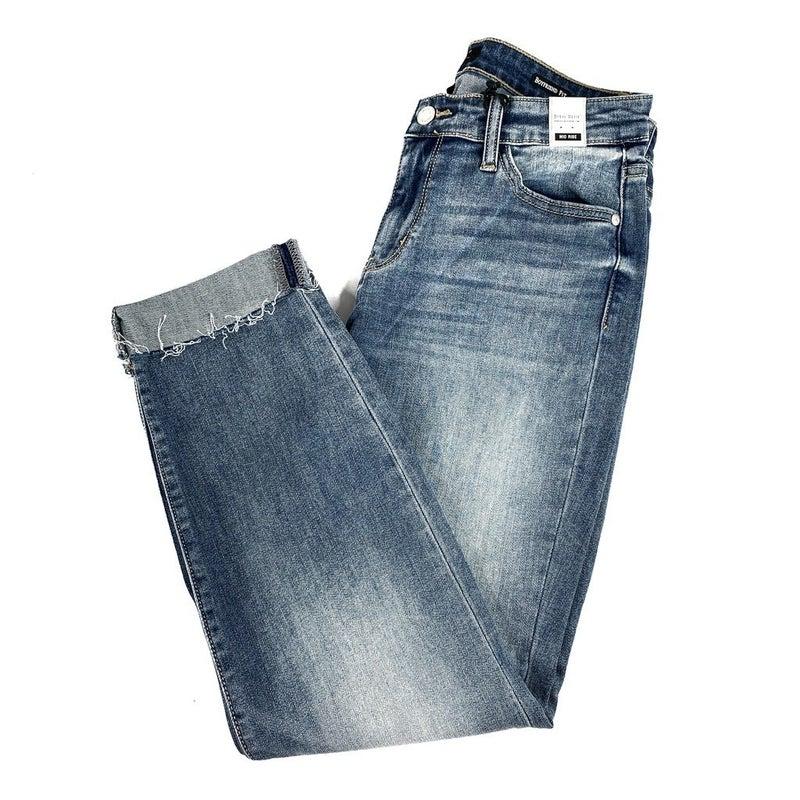 Plus/Reg Judy Blue Not Your Average Boyfriend Jeans