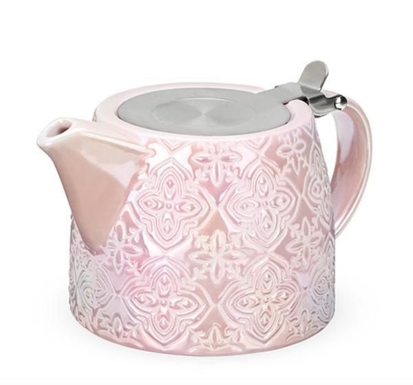 Ceramic Tea Pot and Infuser