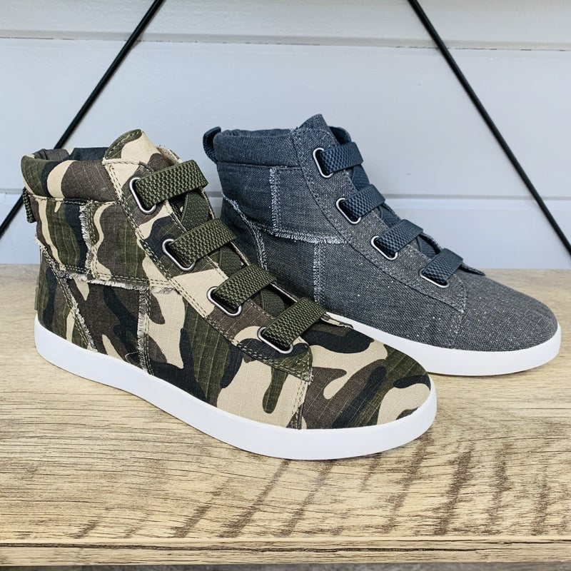Yellowbox Canvas High Top Sneakers- 2 Colors!