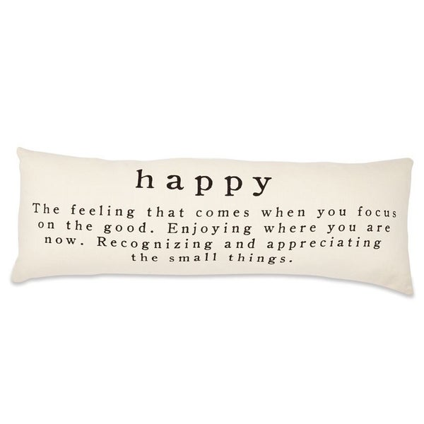 Happy Definition Pillow