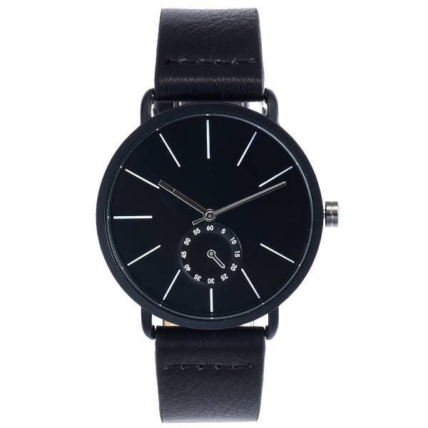 Minimalist Watch Black