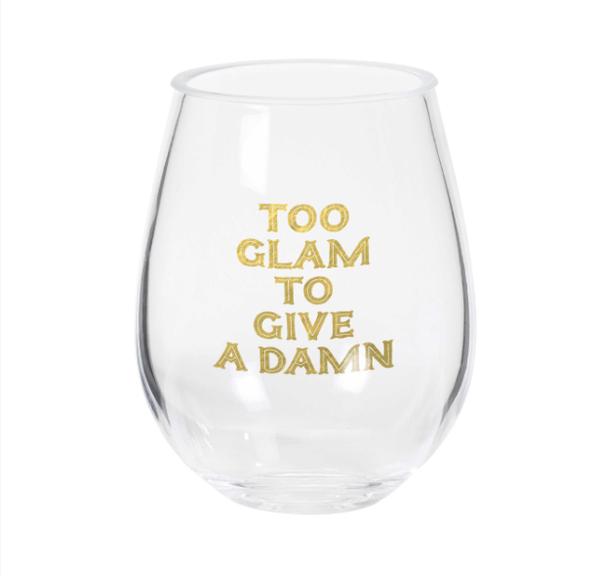 Too Glam Stemless Wine Glass