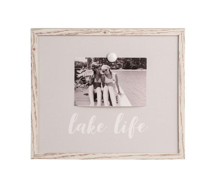 Gray Magnet Frame-Lake Life