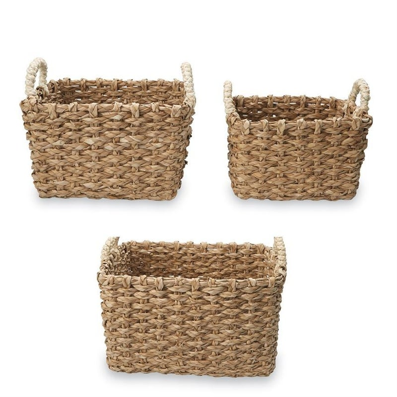 Square Cattail Baskets