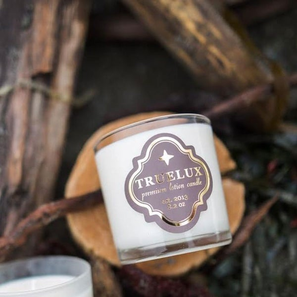 Truelux Lotion Candle Driftwood