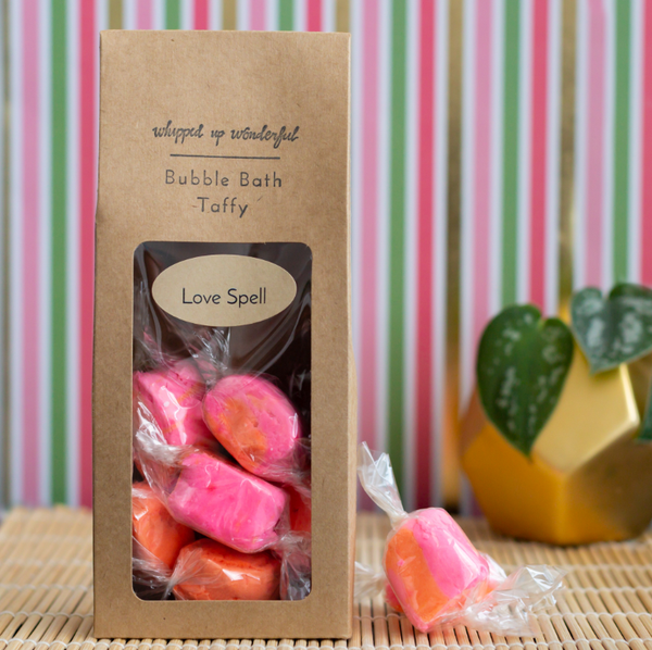 Love Spell Bubble Bath Taffy