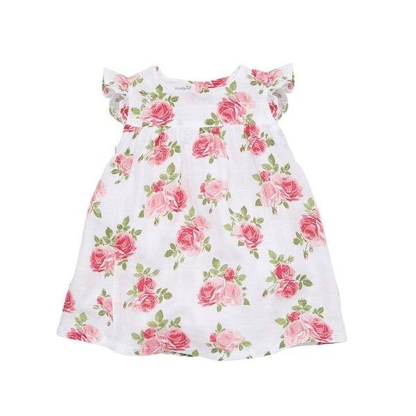 Muslin Rose Dress *Final Sale*