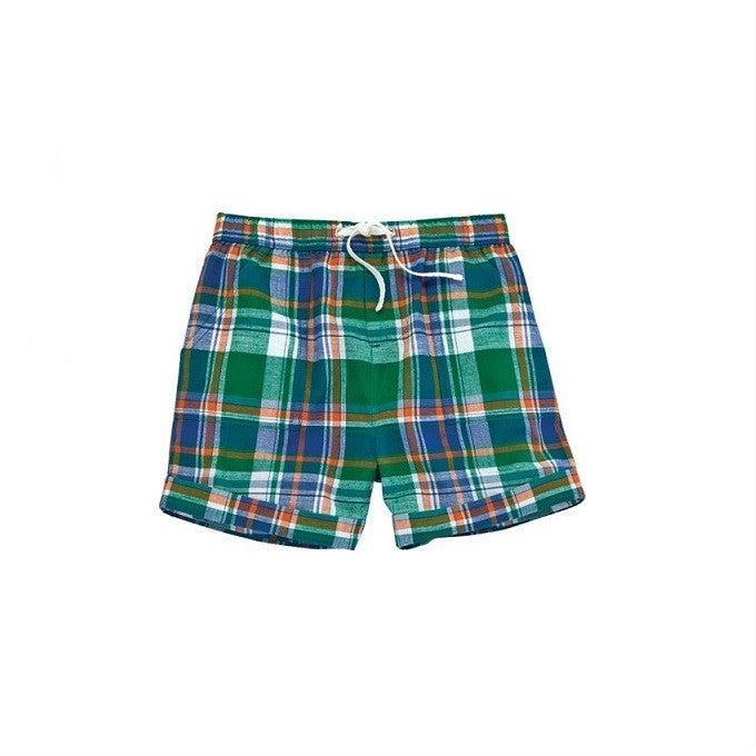 Green Plaid Shorts *Final Sale*