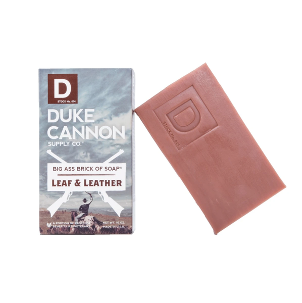Big Ass Bar Soap Leaf & Leather
