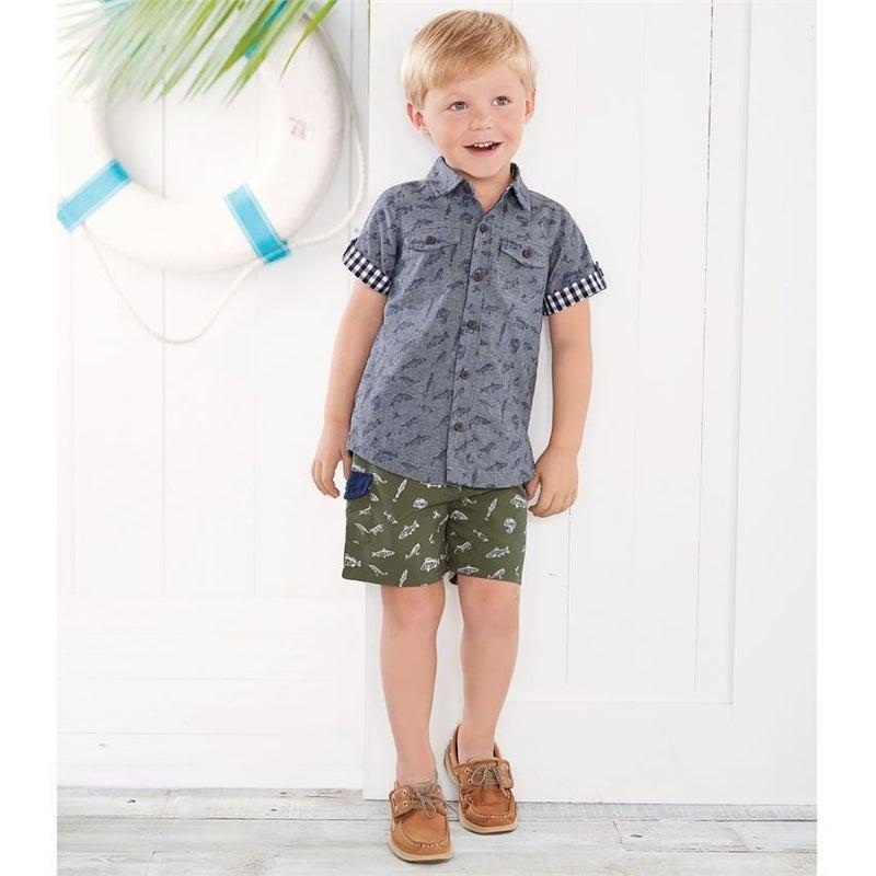 Fishing Resort Shirt *Final Sale*
