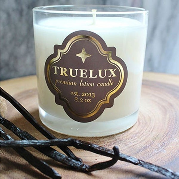Truelux Lotion Candle Vanilla