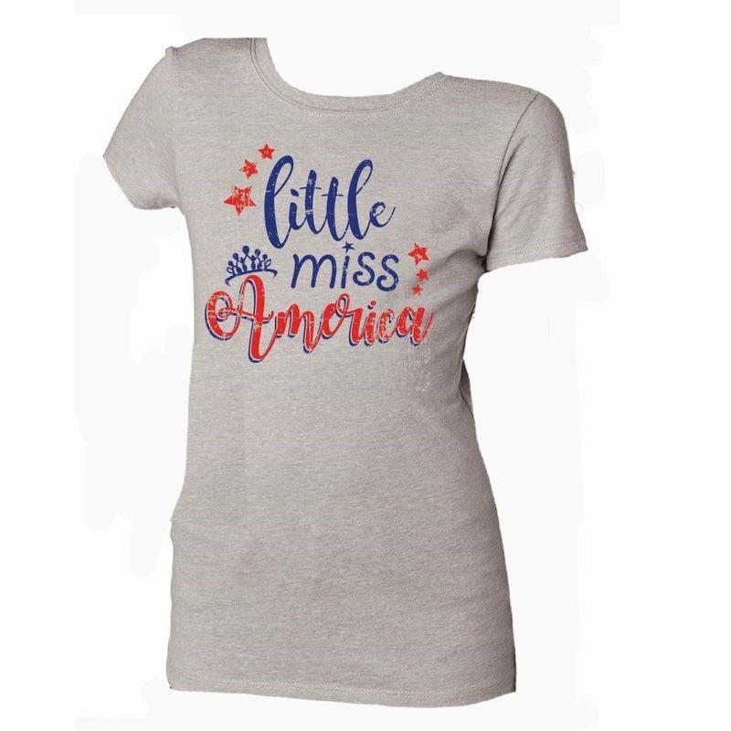 Kids Tee Little Miss America *Final Sale*