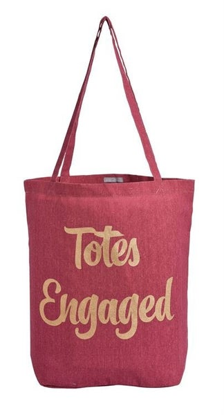 Totes Engaged Canvas Tote Bag