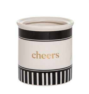 Cheers Ceramic Wine Crock
