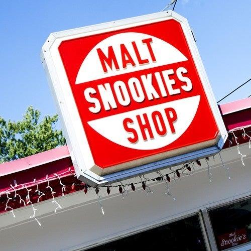 Snookies Malt Shop Coaster