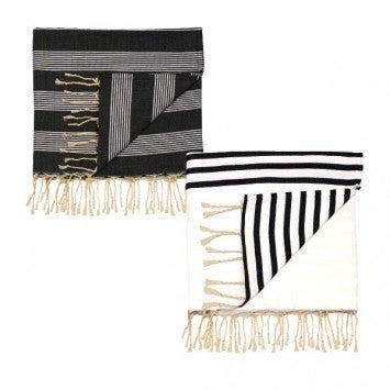 Black & White Throws