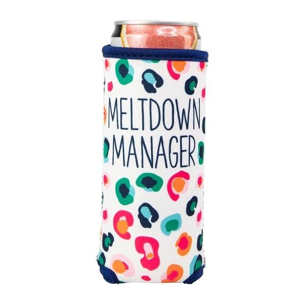 Meltdown Manager Skinny Can Cooler