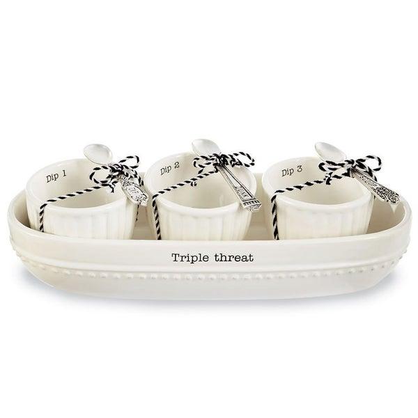Triple Threat Dip Set