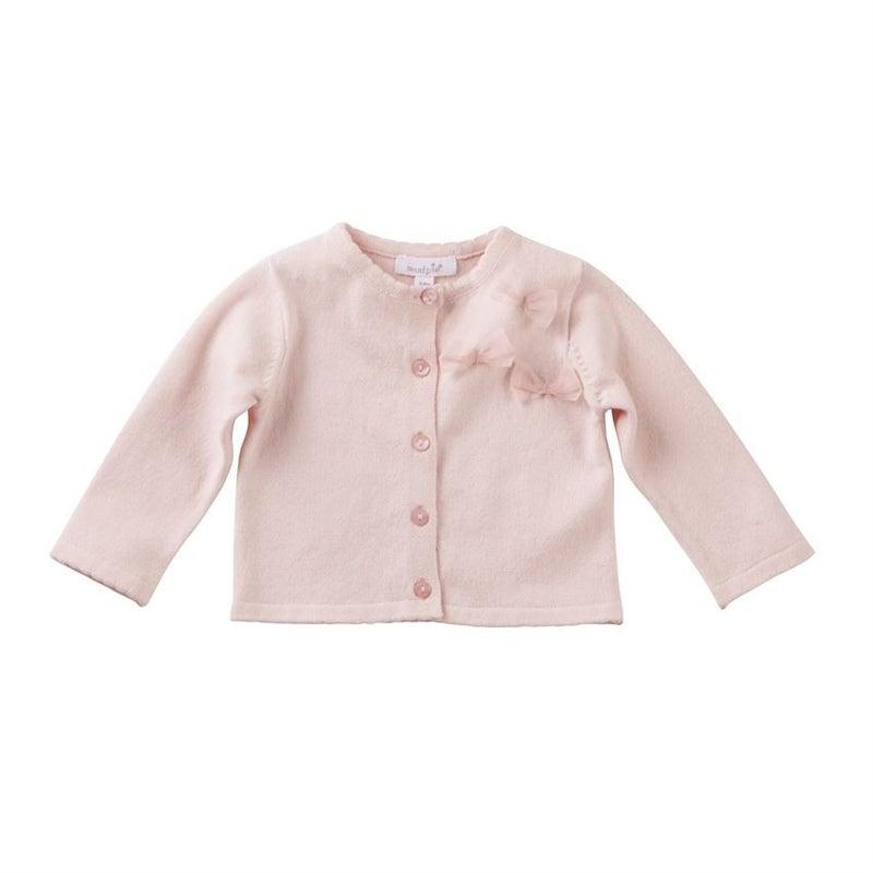Pink Bow Cardigan *Final Sale*