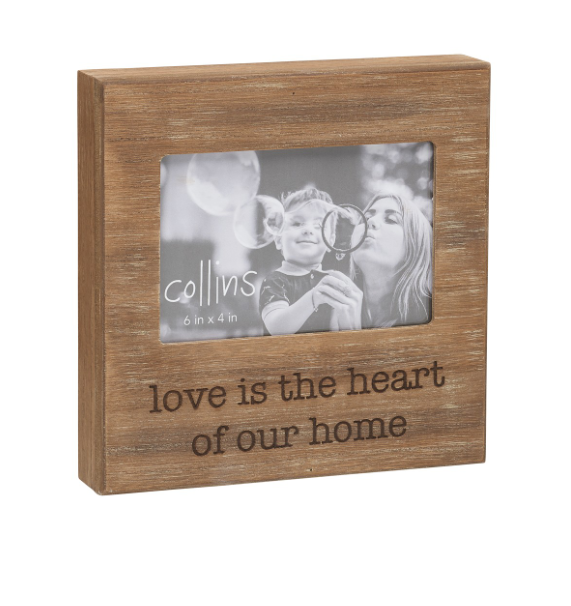Love is Heart Photo Frame