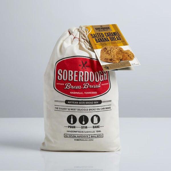 Soberdough Salted Caramel Banana Bread