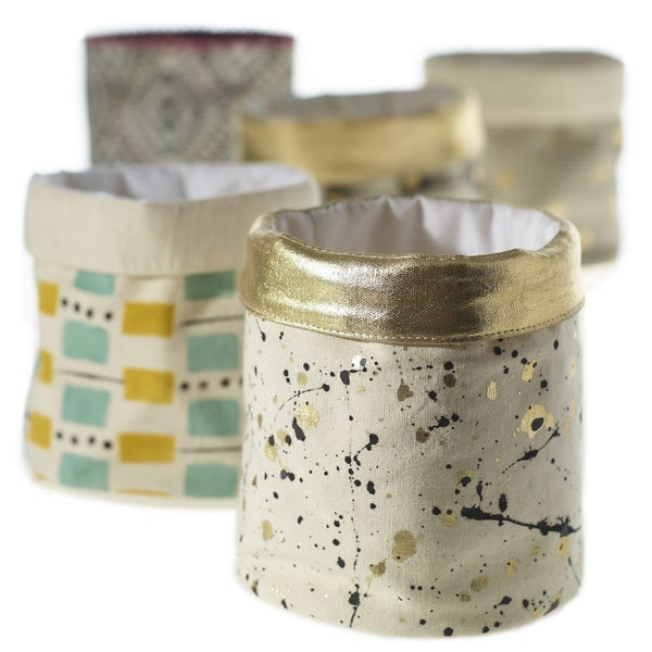 Textile Pot Splatter