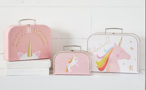 Unicorn Nested Suitcases